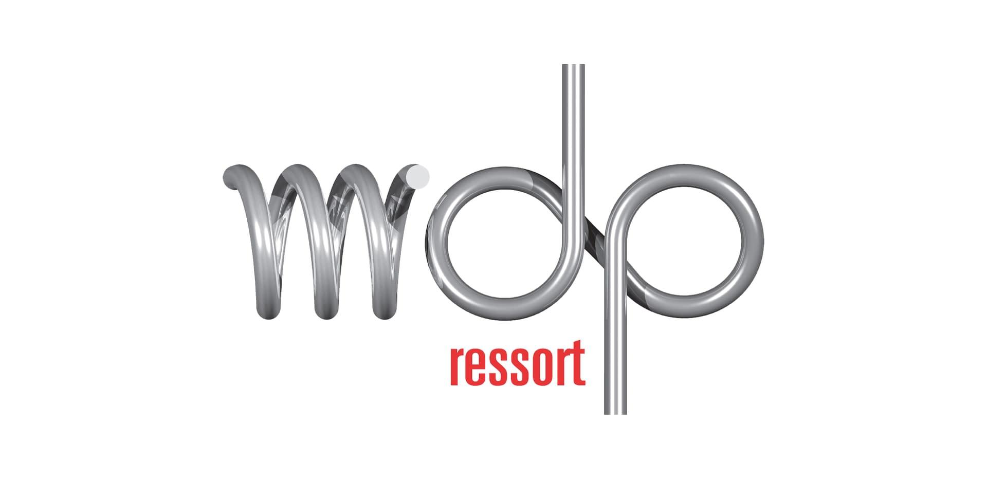 Logo MDP Ressort : filiale du groupe Metalians