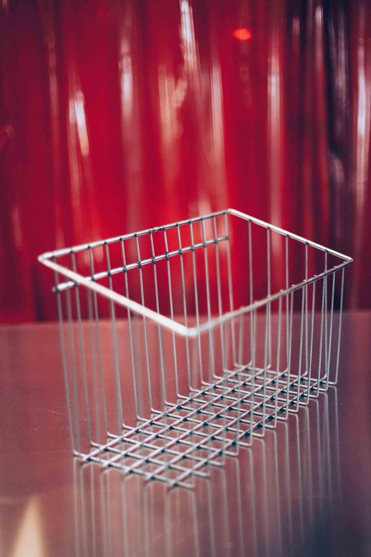 Fabricant de panier en fil métallique soudé : CFT industrie