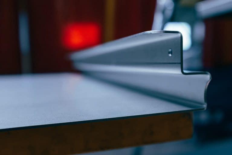 Tôle pliée de 5mm d'épaisseur