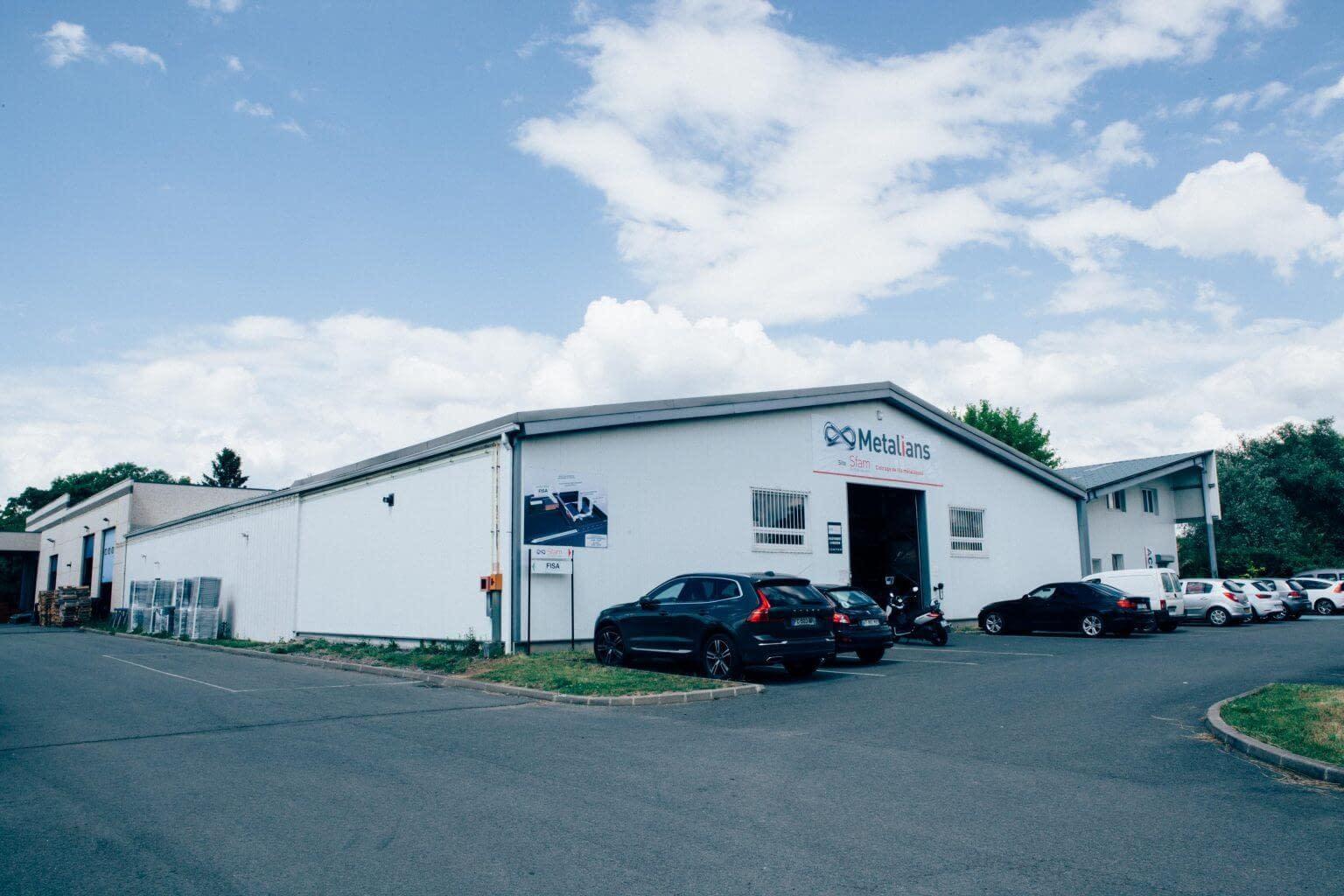 Groupe Metalians : sites de production français spécialisés dans la fabrication de pièces métalliques.