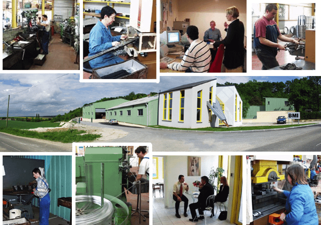 Illustration développements de l'entreprise CFT jusqu'en 2008